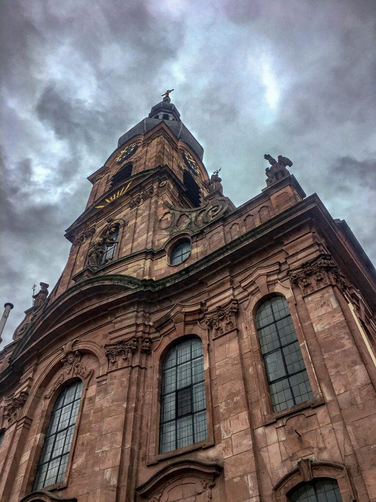 Rastatt, Marktplatz am Rathaus, St.-Alexander-Kirche