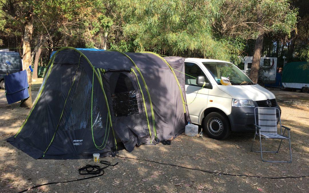 "We love Camping –  mit dem Campingbus ""Bianca"" fing alles an"