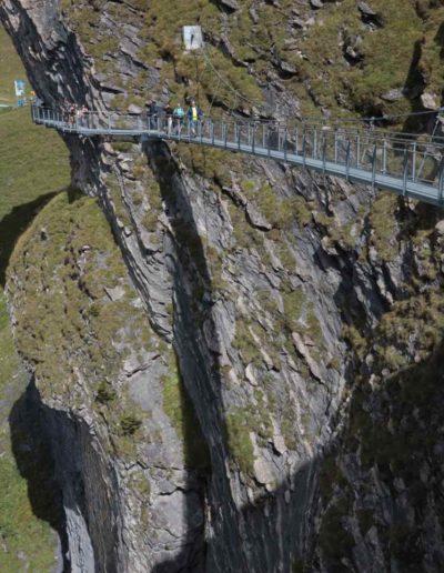 Hängebrücke, First Cliff Walk