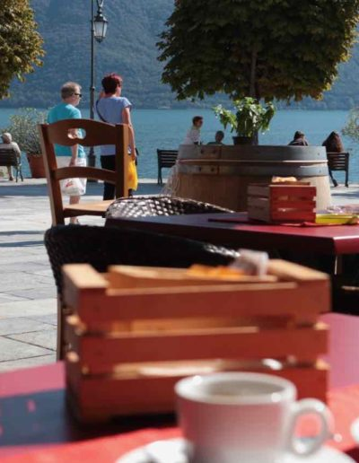 Frühstück in Cannobio am Lago Maggiore