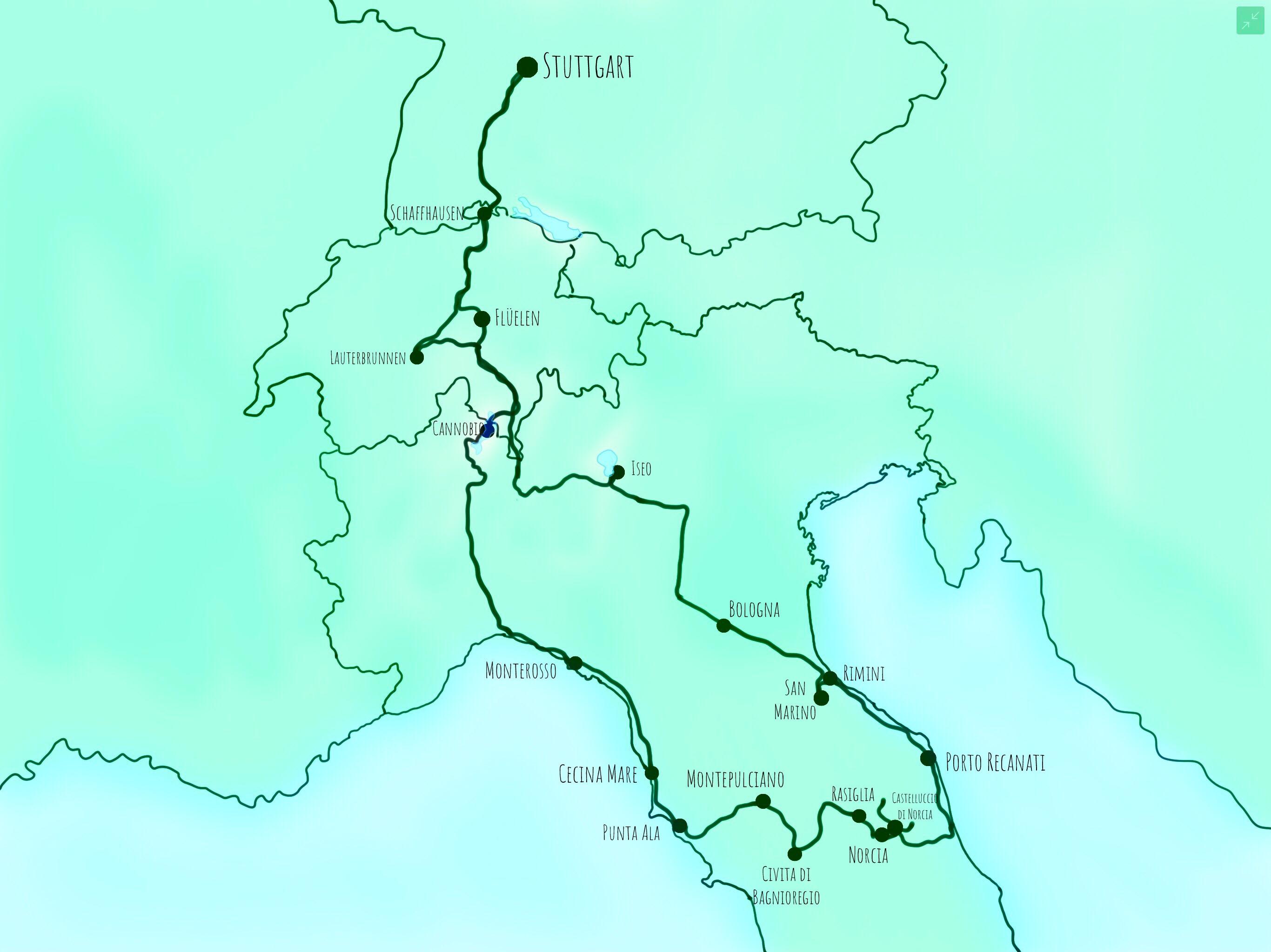 Italien 2018 im Überblick