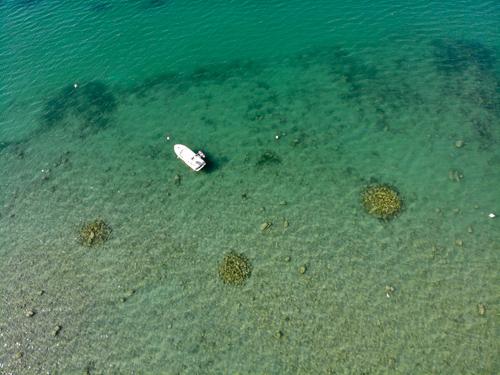Vierwaldstätter See bei Flüelen- oder vielleicht doch die Karibik?
