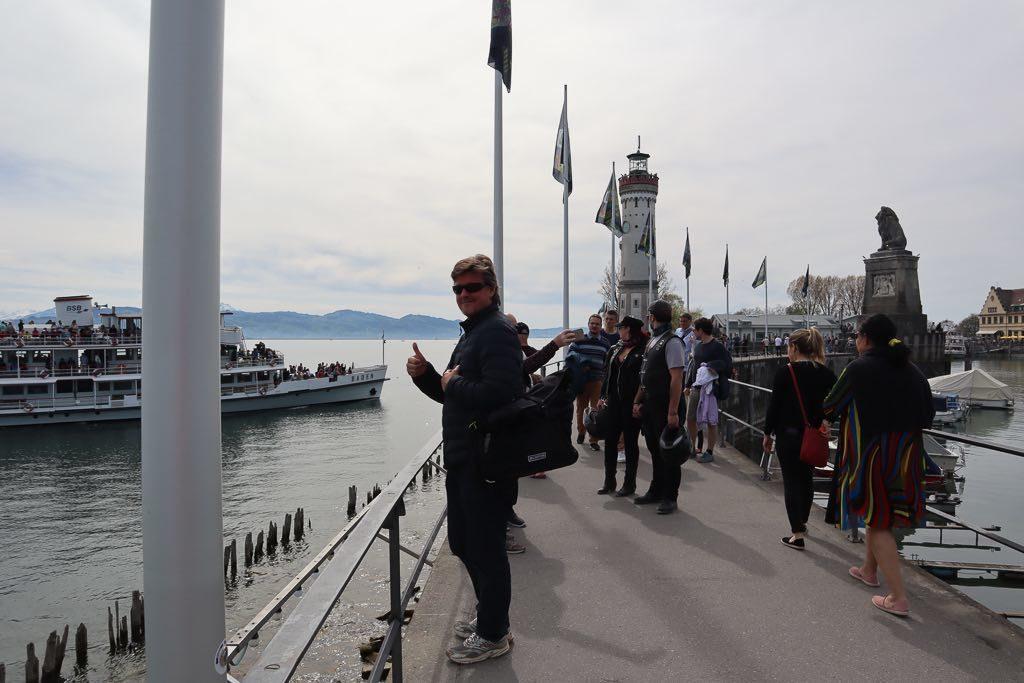 AbenteuerWomo, Bayern, Bodensee, Lindau, Lindau Insel, Wohnmobilreise, Hafen, Leuchtturm, Schifffahrt