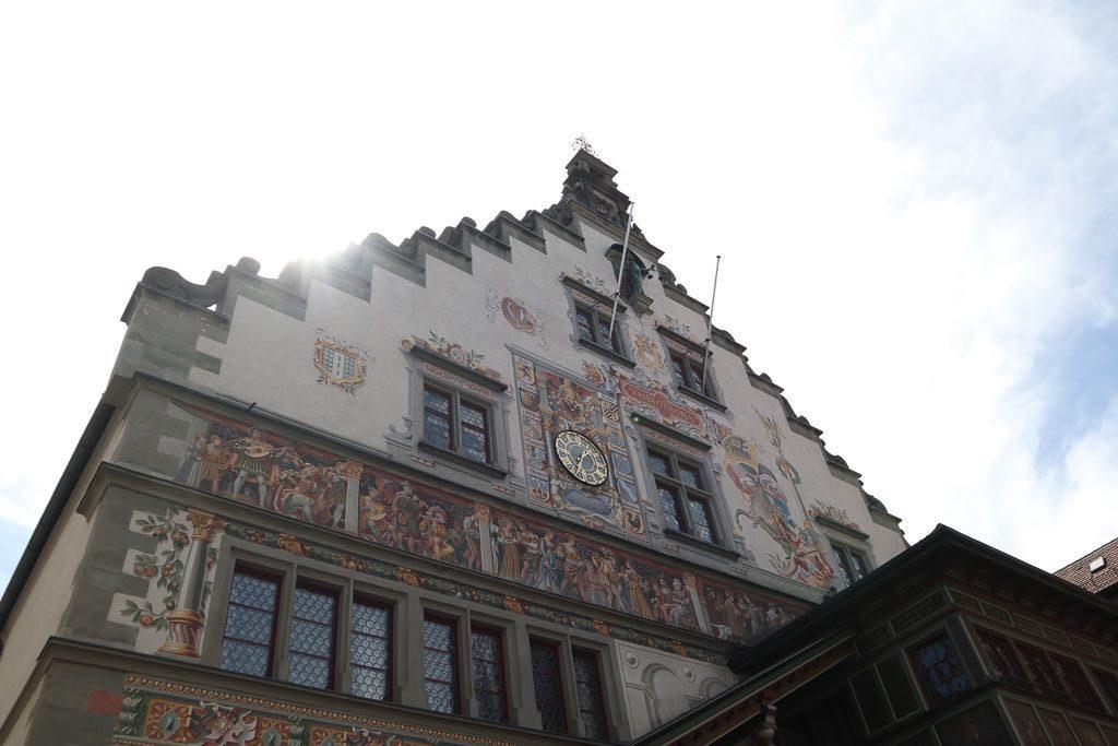 AbenteuerWomo, Bayern, Bodensee, Lindau, Lindau Insel, Wohnmobilreise, Rathaus, historisch, Gebäude