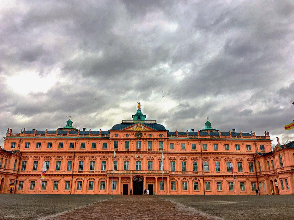 Rastatt, Schloss, Rastatter Schloss, Hofansicht