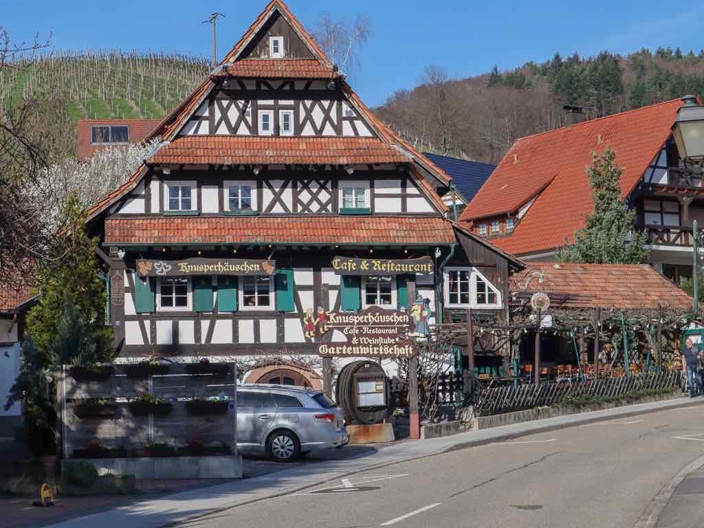 Sasbachwalden, Ortenau, Baden-Württemberg, AbenteuerWomo, Restaurant, Knusperhäuschen
