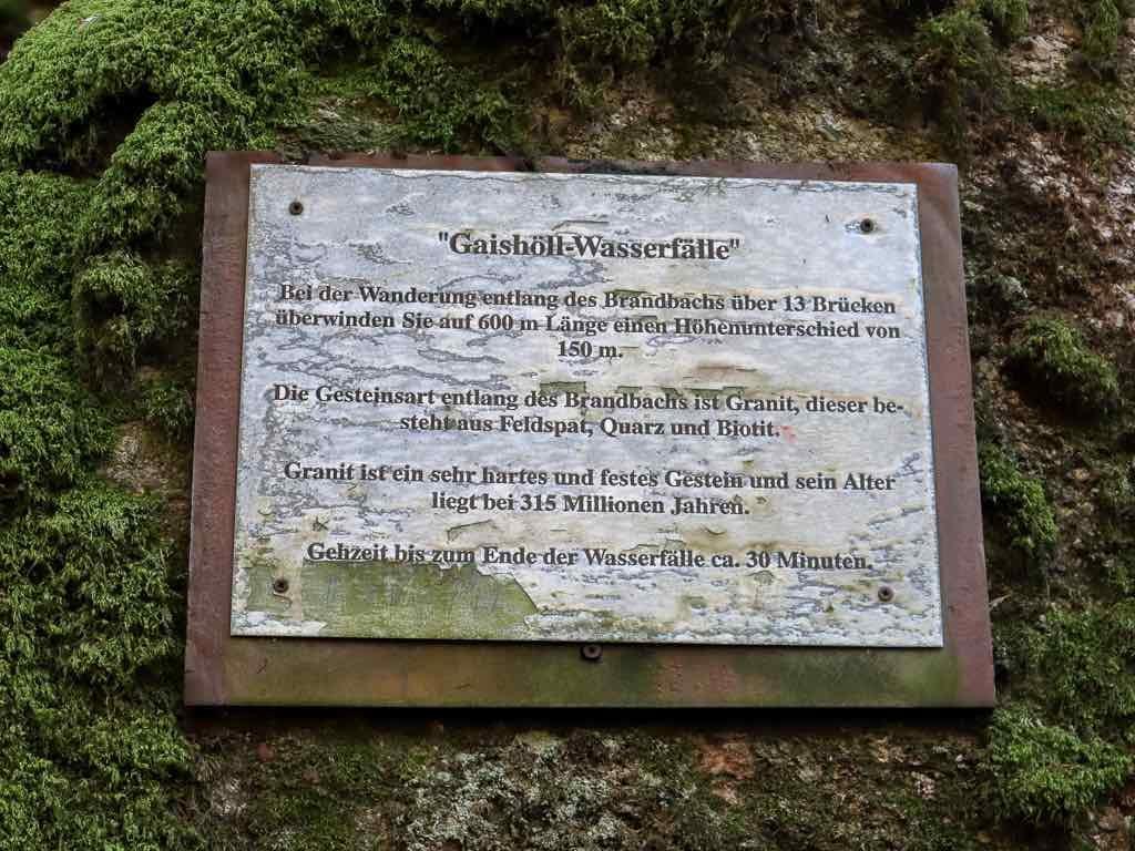 Sasbachwalden, Baden-Württemberg, Ortenau, Wanderung, Schnapsbrunnenweg , AbenteuerWomo, Wasserfall, Gaishöll,