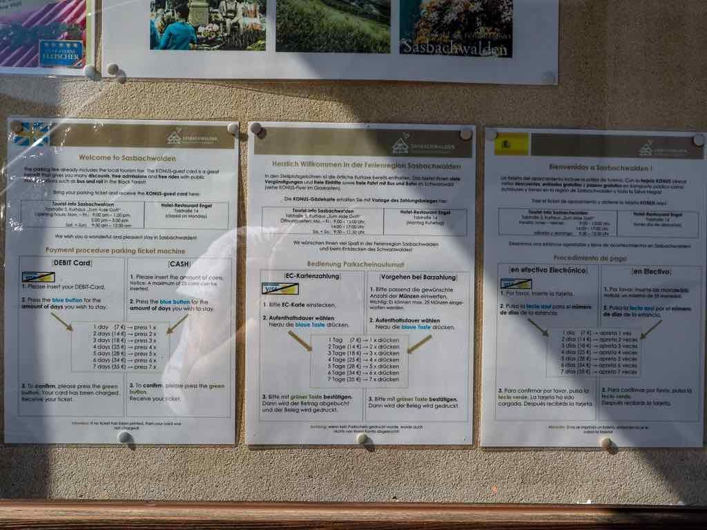 Sasbachwalden, Ortenau, Schwarzwald, Baden-Württemberg, AbenteuerWomo, Womo, Wohnmobil, Wohnmobilstellplatz, Alde Gott