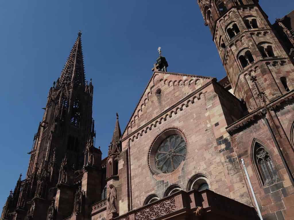Freiburg, Breisgau, Baden-Württemberg, Münster, Kirche, Dom, AbenteuerWomo