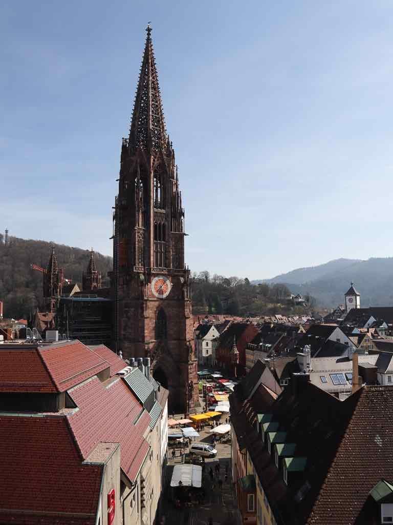 Freiburg, Breisgau, Baden-Württemberg, Münster, Kirche, Dom, AbenteuerWomo, Münsterplatz, Markt