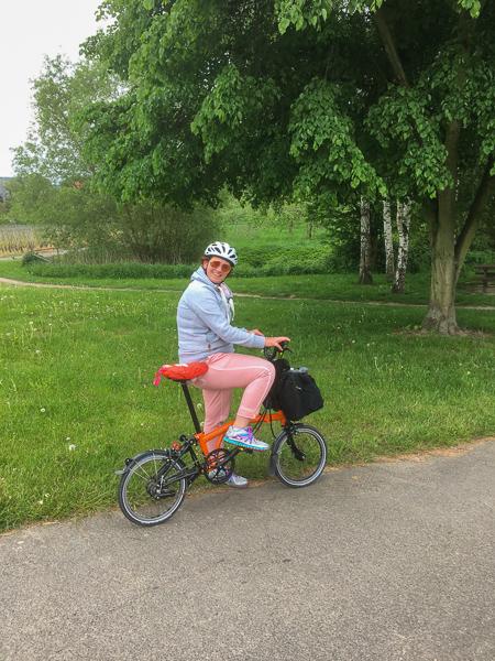 AbenteuerWomo, Brompton, Rheinland-Pfalz, Mosel, Radtour