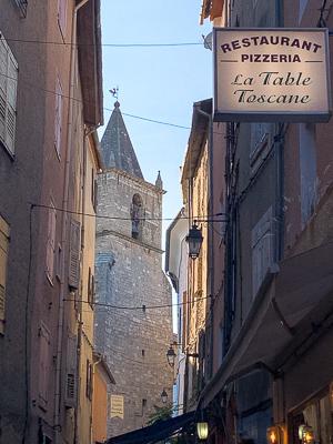 Frankreich, Provence, Riez, La Table Toscane, Restaurant, Pizzeria, AbenteuerWomo